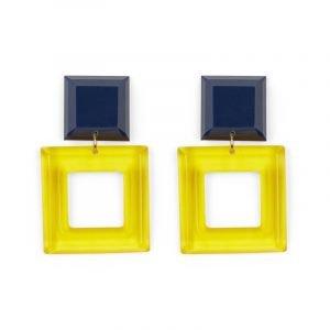 Quadratische Ohrringe