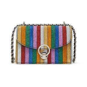 Tasche in Regenbogenfarben