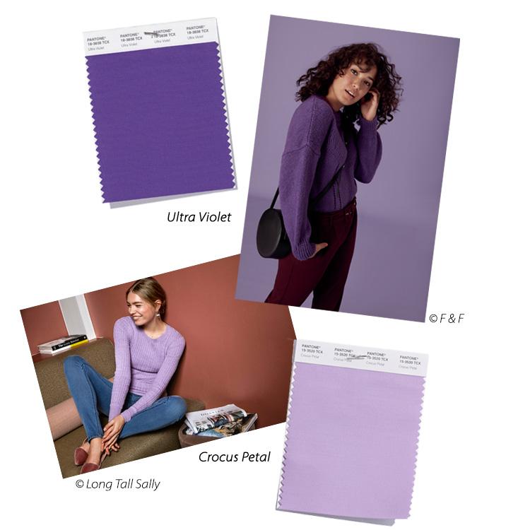 trendfarbe violet