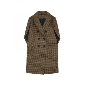 Cape Coat mit Karomuster