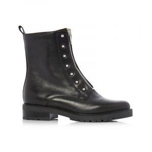 Schwarze Combat Boots
