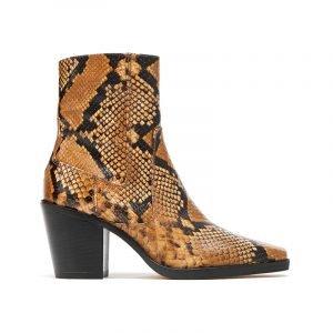 Cowboy Boots mit Snake Prints