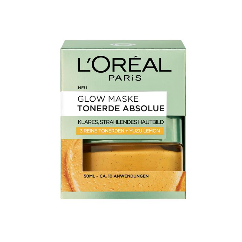 loreal glowmaske tonerde