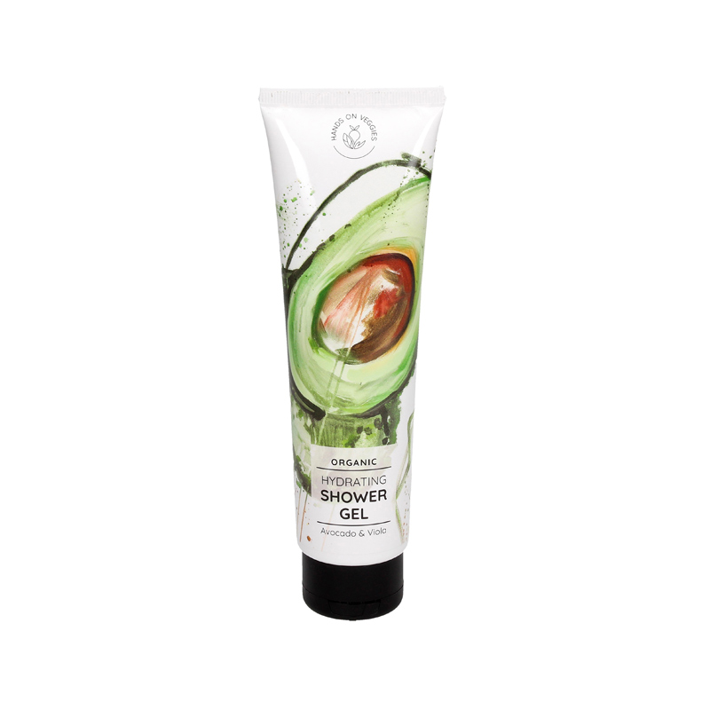 shower gel avocado