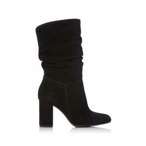 Schwarze Slouch Boots