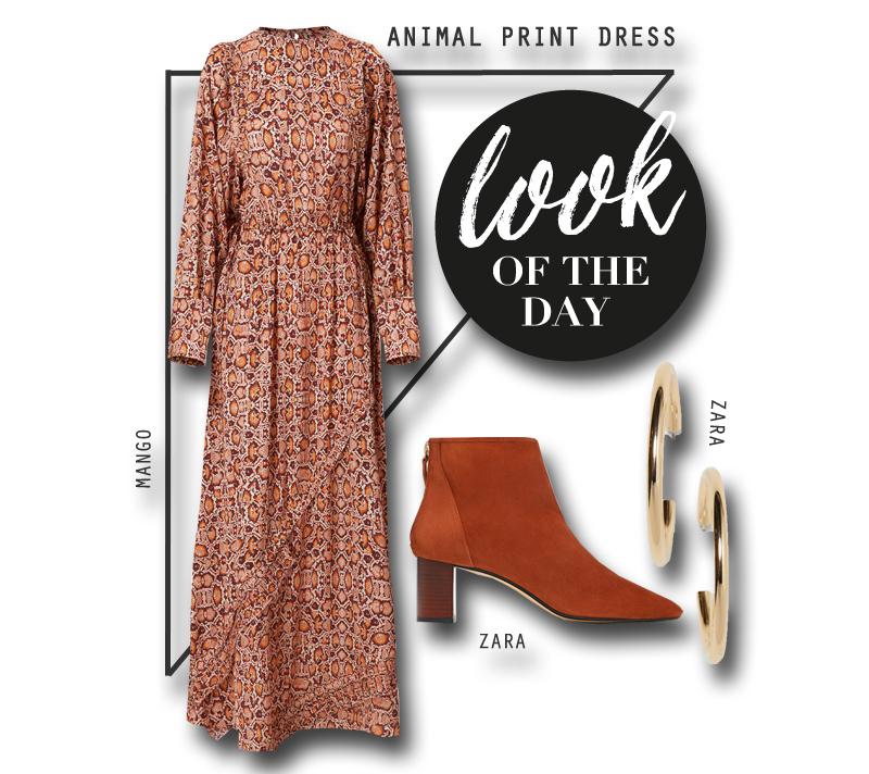 Stylingtipp Kleid mit Animal Print