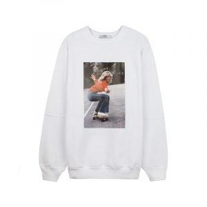 Sweatshirt mit Farrah Fawcett Print