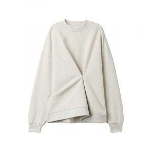 Sweatshirt mit Raffung