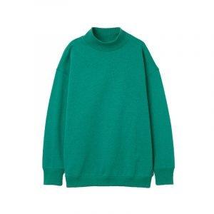 Sweatshirt mit Turtle Neck