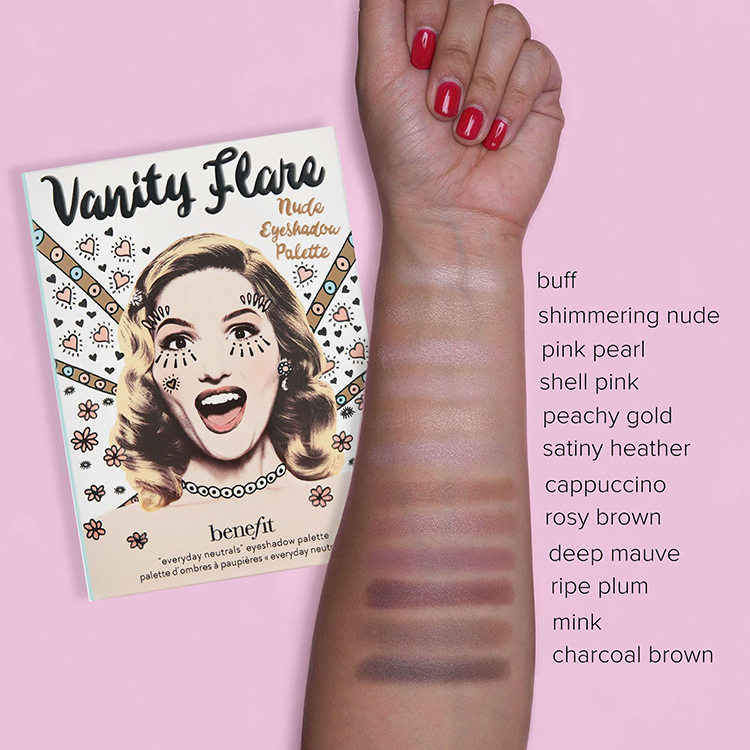 benefit swatches