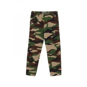Cargo-Hose mit Camouflage-Print