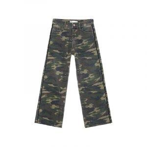 Hose mit Camouflage-Print