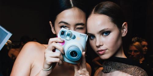 models machen foto