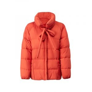 Puffer Jacket mit Schleife