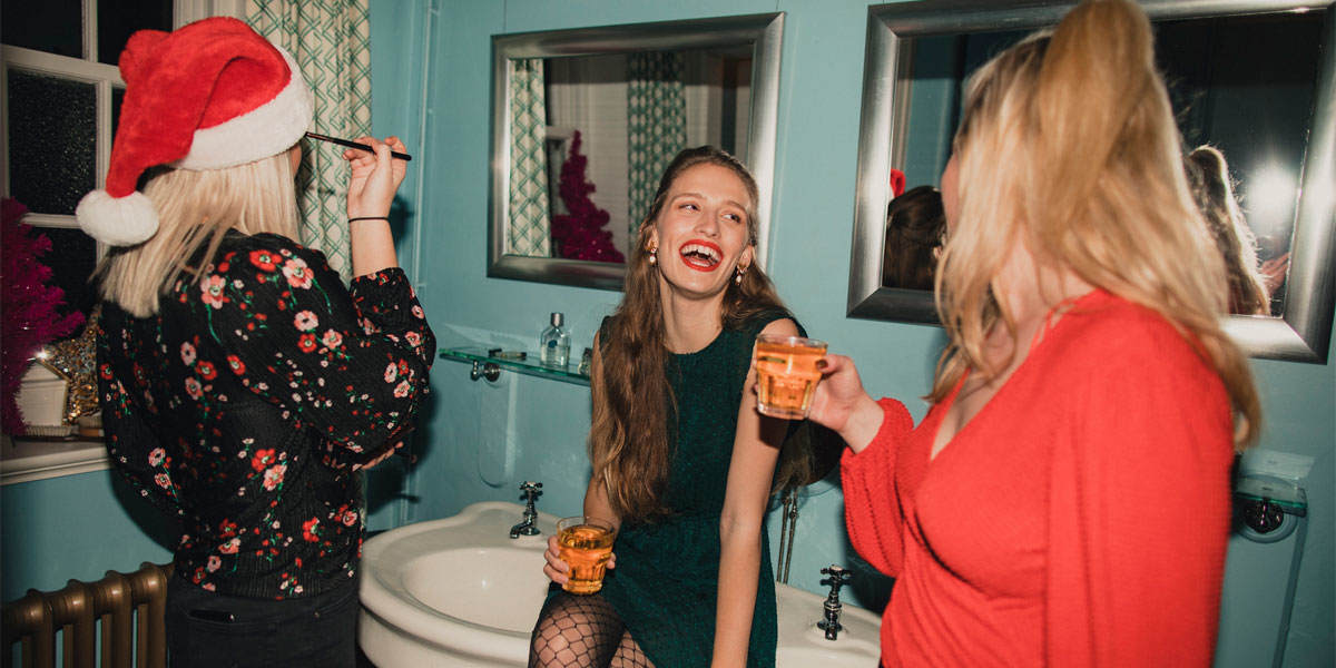 make-up trends weihnachten