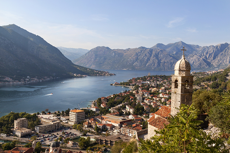 Kotor bay is most beautiful place in Montenegro