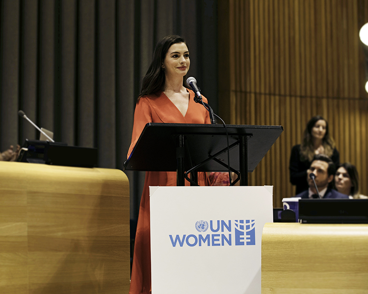 anne hathaway ist UN Women Goodwill Ambassador