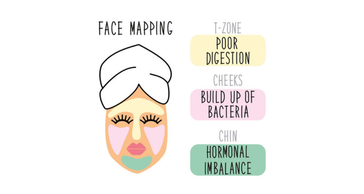 face mapping illustration