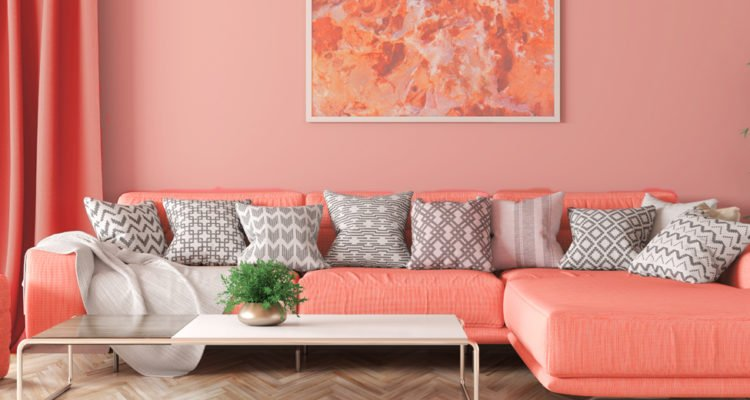 Trendfarbe Wohnen In Living Coral Beautypunk
