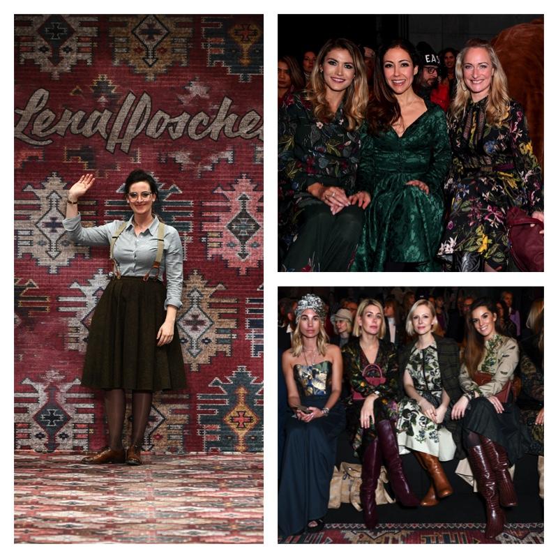 font row und gäste auf der lena hoschek fashion show auf der mbfw 2019