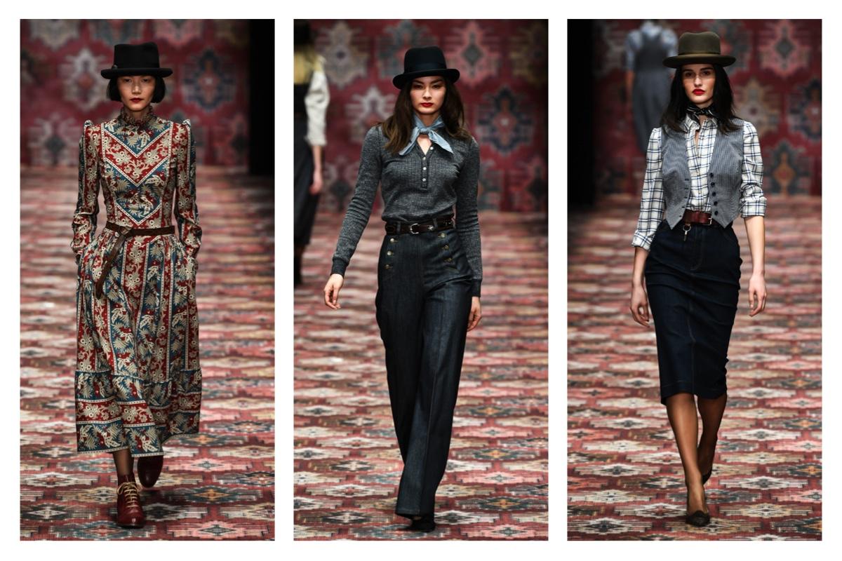 models auf laufsteg bei der lena hoschek fashion show berlin 2019