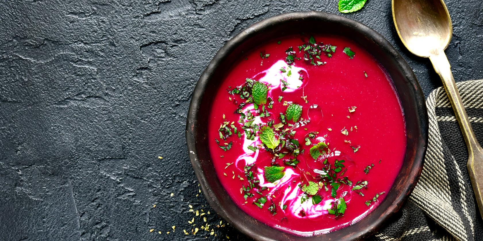 rote beete gemuesesuppe