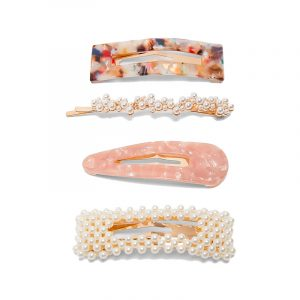 produktbild haarklammern set mit perlen