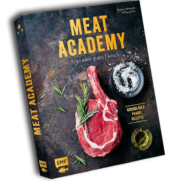 produktabbildung vom kochbuch Meat Academy