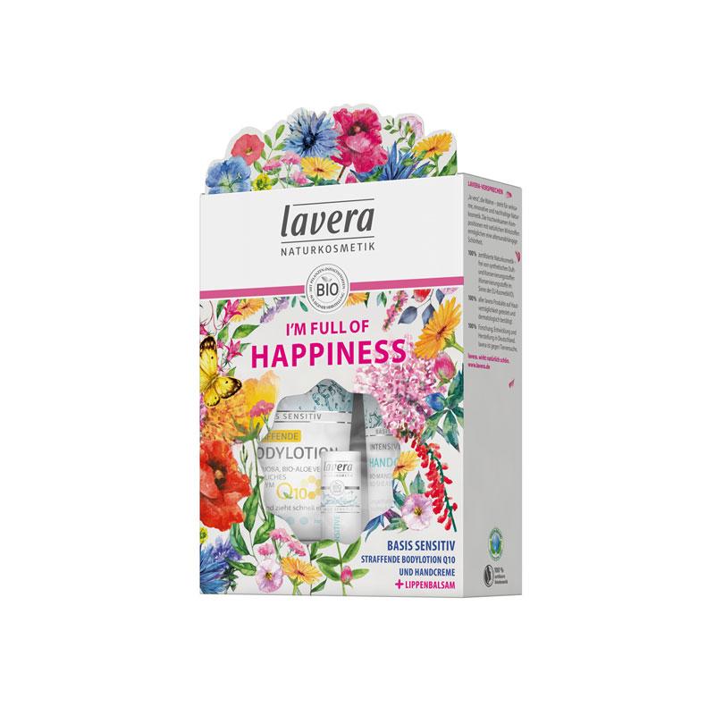 produktabbildung vom lavera pflegeset happiness