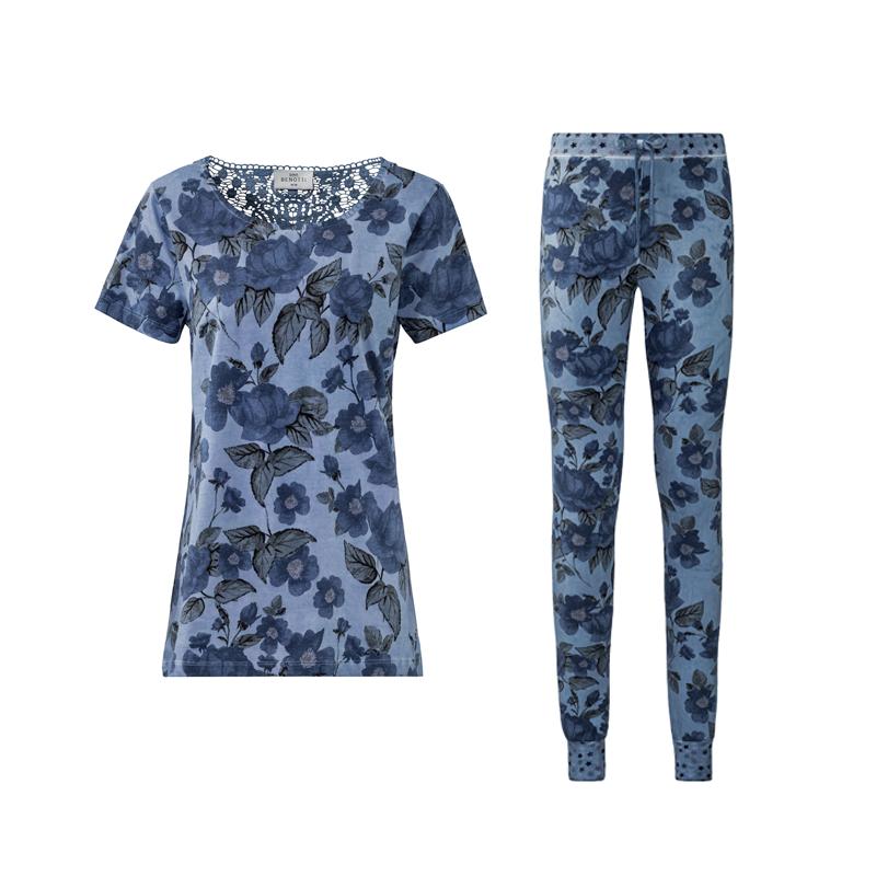 produktabbildung von loungewear leggings mit oberteil von erstings family