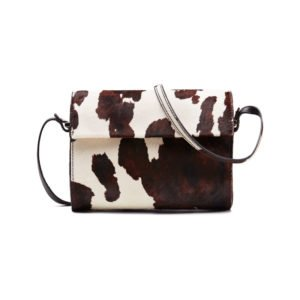 tasche mit kuhfell-muster