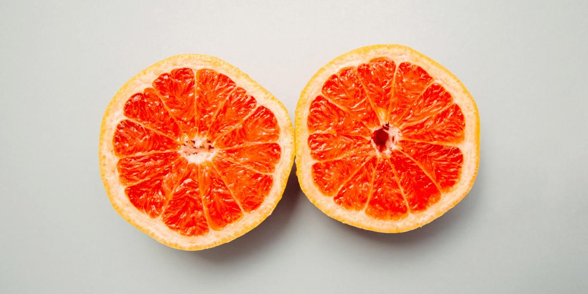 grapefruit busen