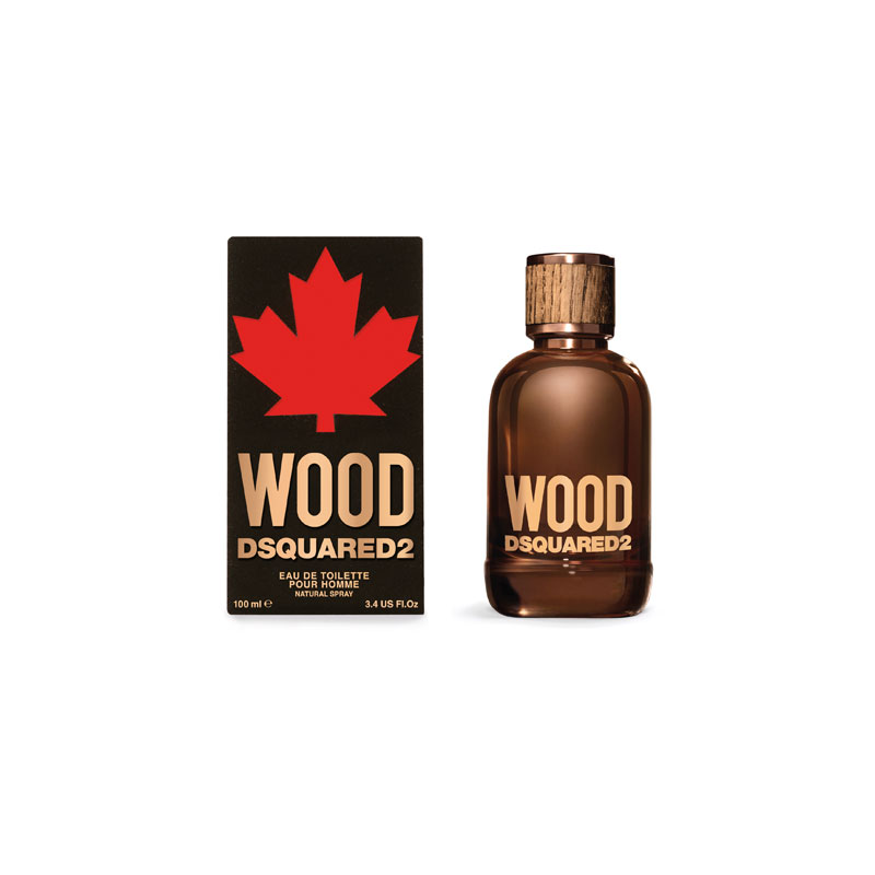 produktabbildung des herrenparfums wood von squared