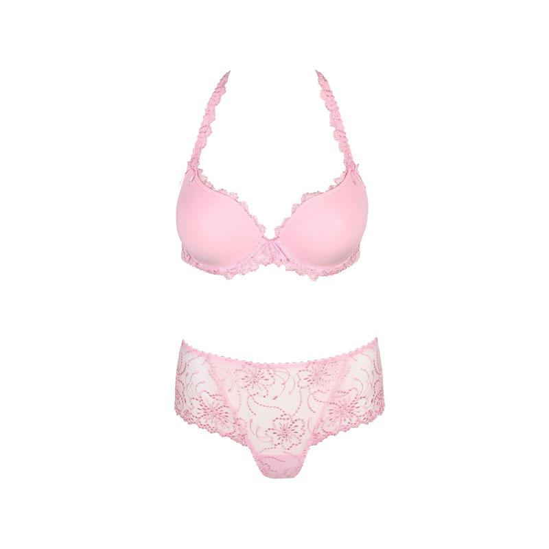 produktabbildung eines rosa dessous-sets von marie jo l´aventure