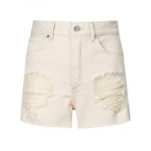 produktbild weiße shorts mit rissen