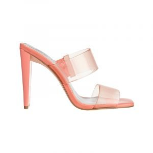 produktbild high heel sandale mit transparenten riemen