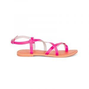 produktbild flache riemchen-sandale in pink