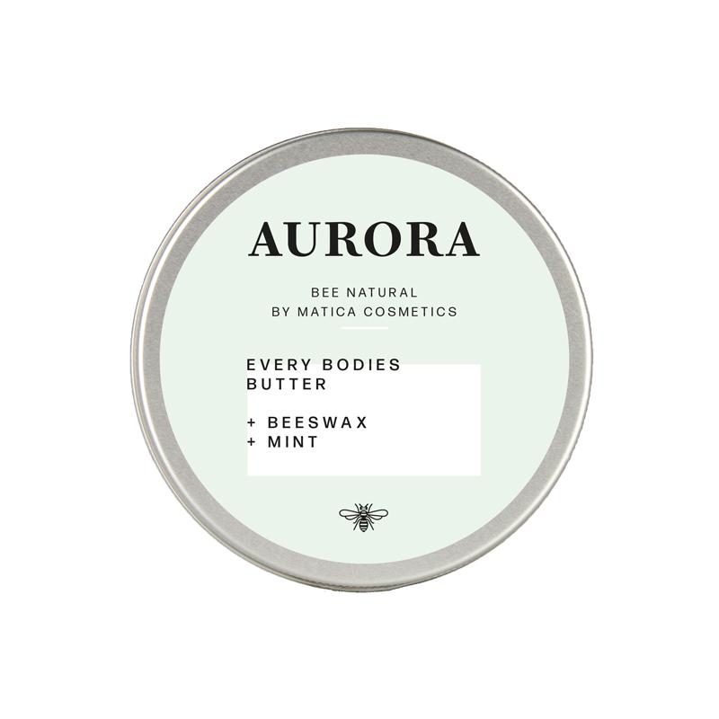 matica cosmetics bodybutter aurora