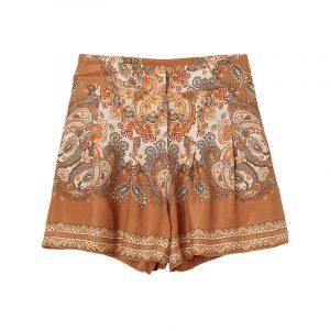 produktbild paisley muster shorts