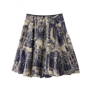 produktbild shorts mit porzellan-print