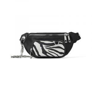 produktbild gürteltasche mit zebra-muster