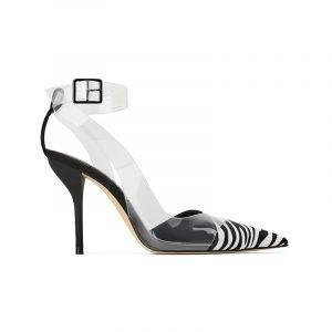 produktbild high heels mit zebra-muster
