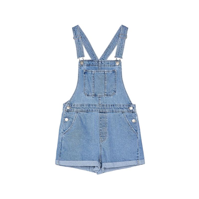 jeans-latzhose bershka