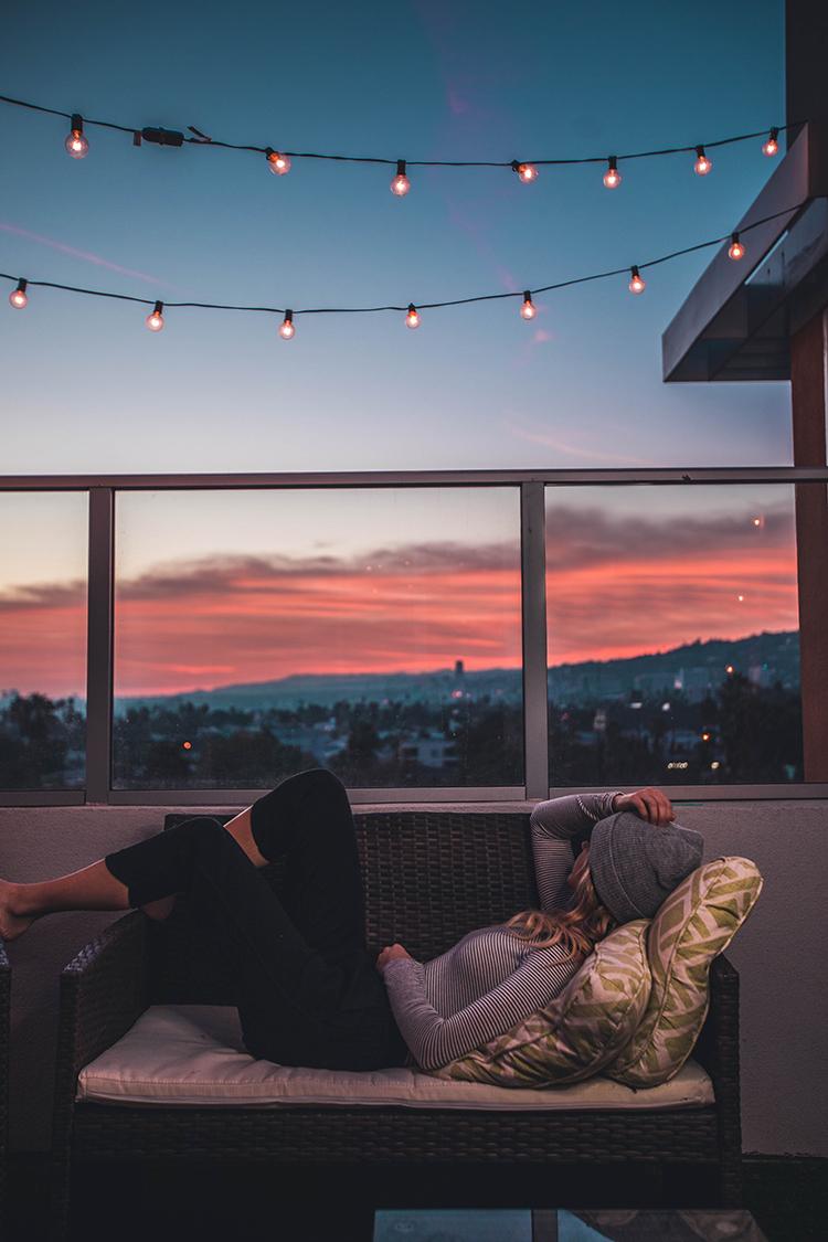 balkon lichter