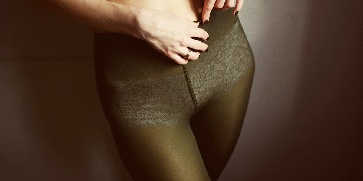 gruene strumpfhose