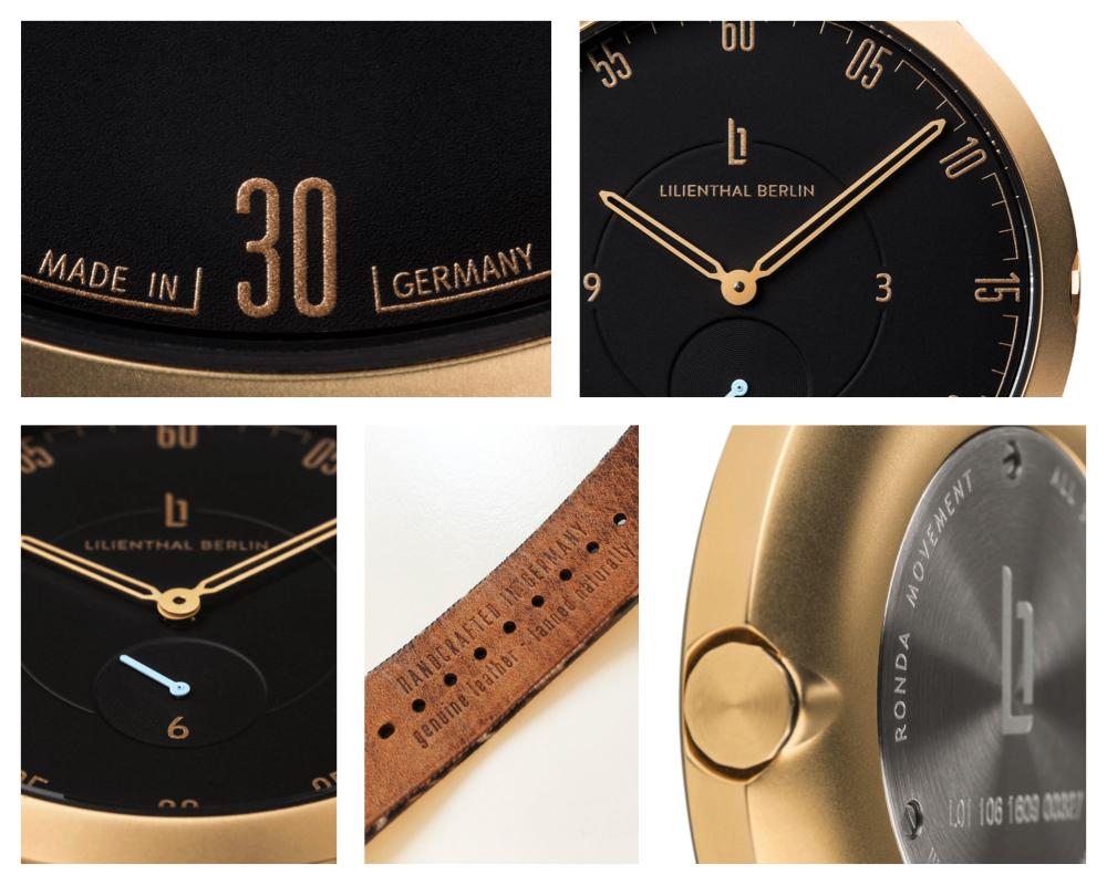 lilienthal armbanduhr details