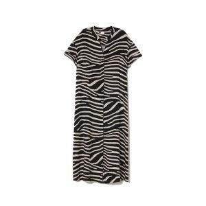 produktbild sommerkleid mit zebra muster