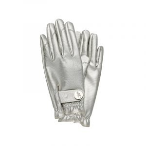 produktabbildung silberne gartenhandschuhe