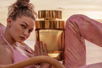 gigi hadid mit michael kors parfum wonderlust