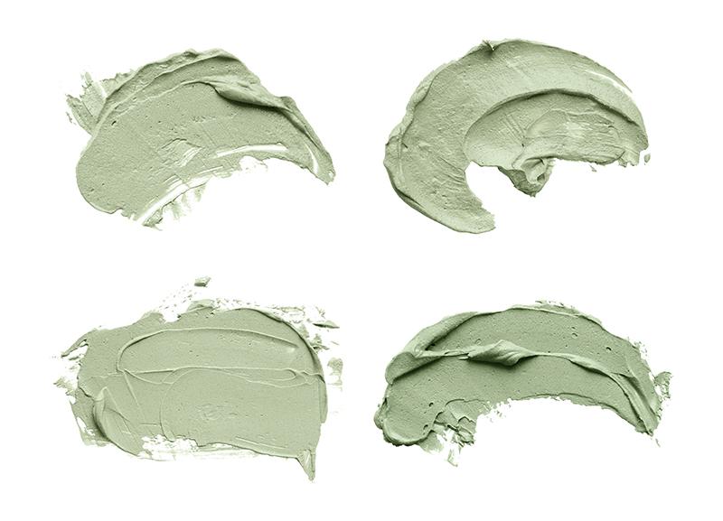 grüne tonerde